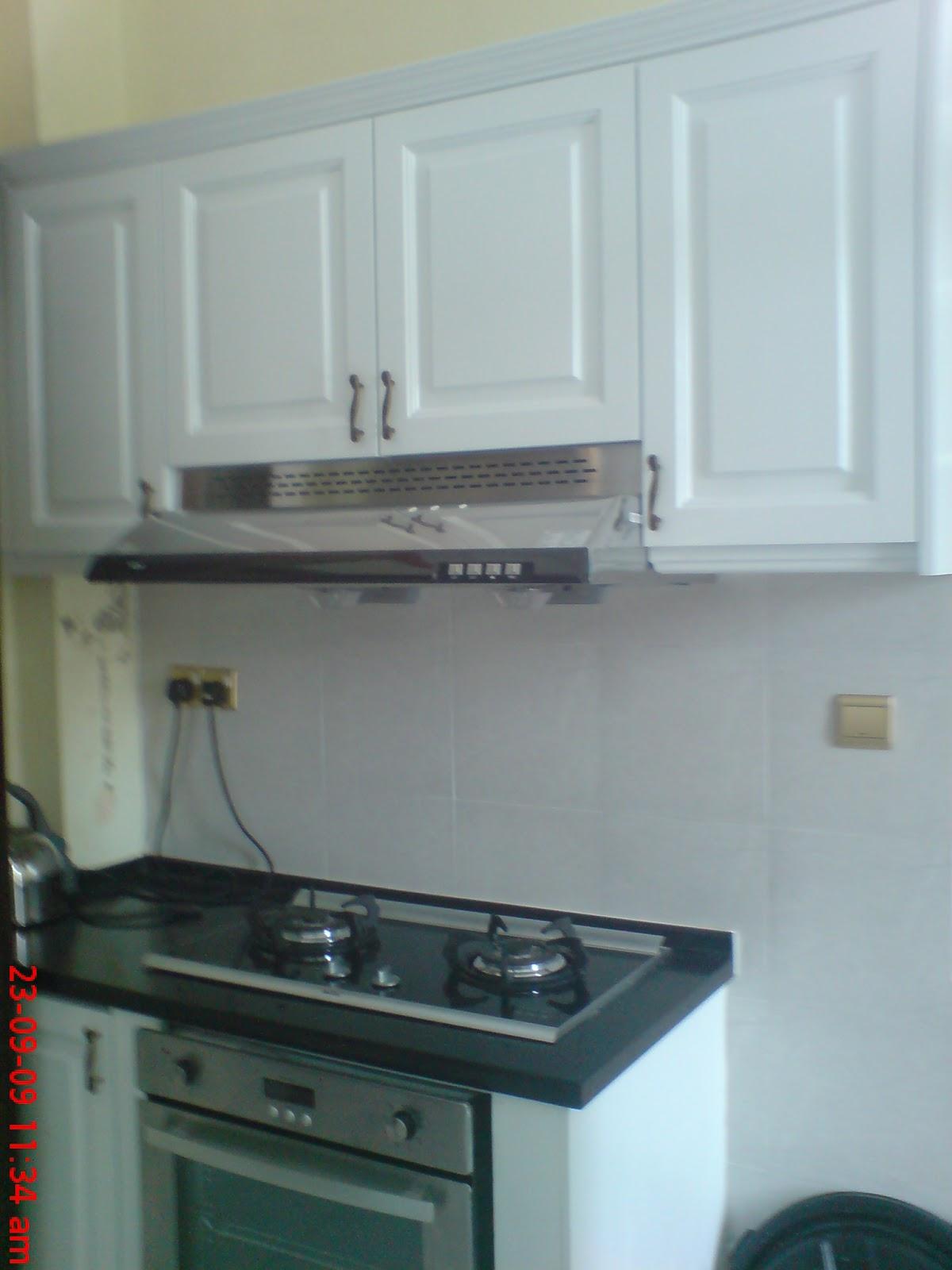 Nyatoh Wood Kitchen Cabinet