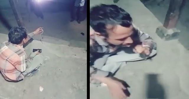 हिमाचल वीडियो वायरल: नशे में सांप पकड़ कर रहा था Kiss, जीभ पर काटा- गई जान