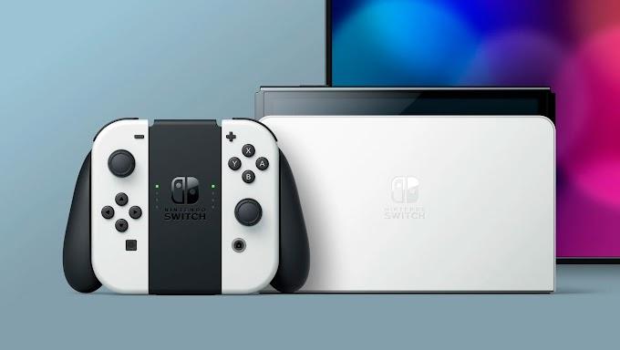 Sorteio Nintendo Switch OLED e mais