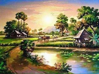 jalan jalan desa zaman dahulu