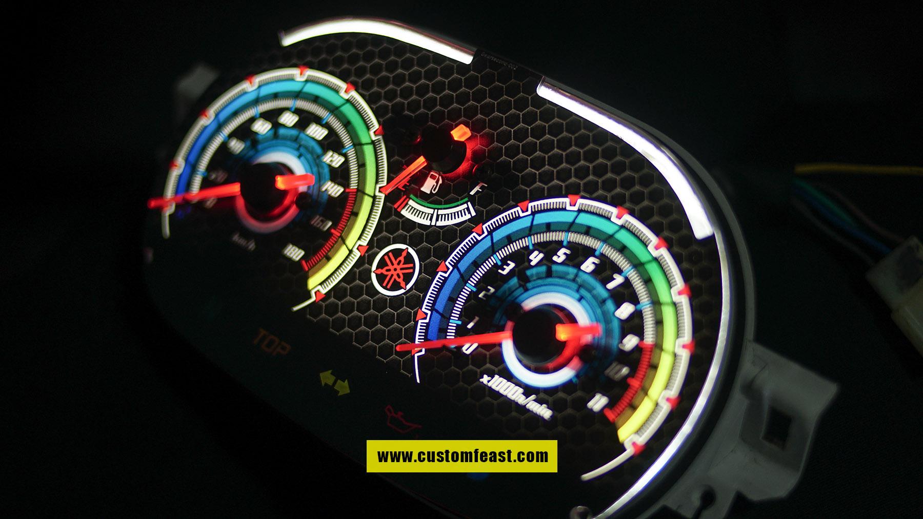 Speedometer Custom yamaha 125z