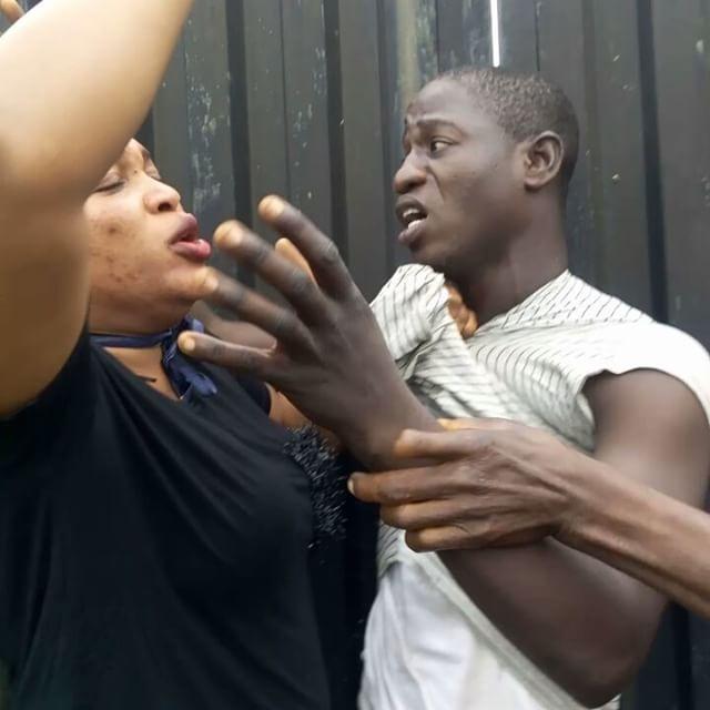 area boys beat kemi afolabi ikorodu lagos