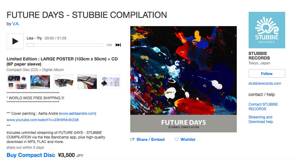 glockabelle: My first release in JAPAN ^_^