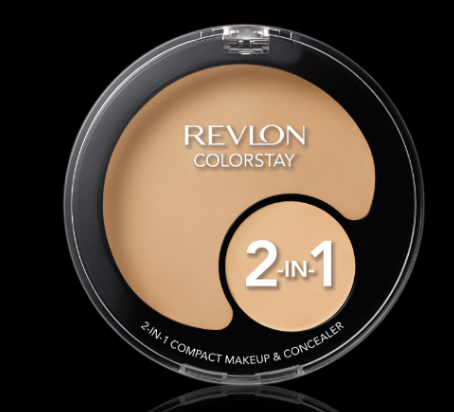Choose Your Match! Choose Revlon ColorStay 2-in-1 Compact Makeup & Concealer!