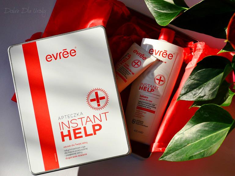 Evrēe Instant Help Balsam do ciała i Krem do rąk - natychmiastowy ratunek dla przesuszonej skóry