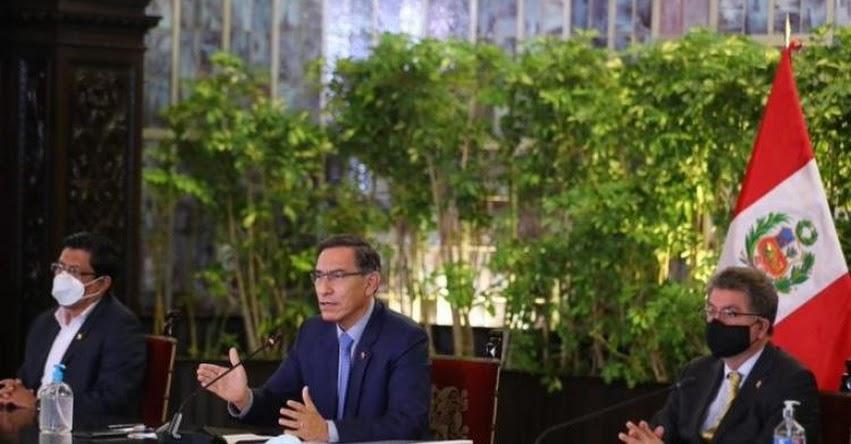 Presidente Martín Vizcarra convocó a Elecciones Generales para el 11 de abril del 2021