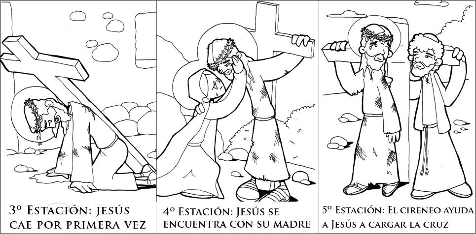 Imágenes Para Descargar Vía Crucis Para Niños