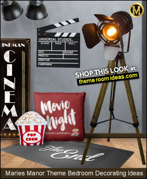 movie room decor hollywood floor lamp cinema room floor pillows home theater wall decorations  Movie Film Clap Board, Hollywood Clapper Board Wooden Film Movie Clapboard Accessory