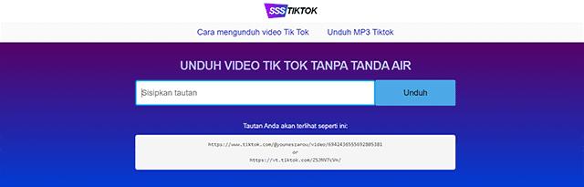 Cara Download Video TikTok Tanpa Aplikasi Secara Online