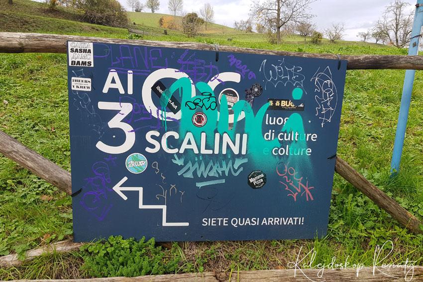 Ścieżka 300 scalini w Bolonii