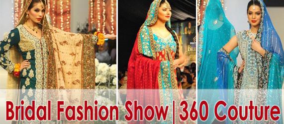 Bridal Fashion Show 360 Bridal Couture Week 2011 12 Indian Fashion Dresses