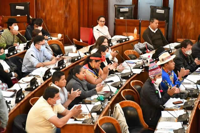 Presidente Arce resalta trabajo de diputados que aprobaron normas para reactivar la economía