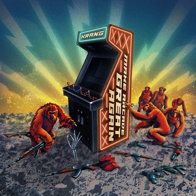"KRANG stream new album ""Make Arcade Great Again"""