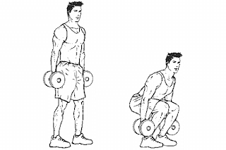 2. Dumbbell Deadlift