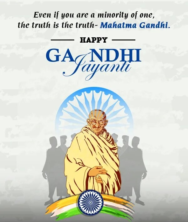 Gandhi Jayanti Quotes and Images 2 October 2020
