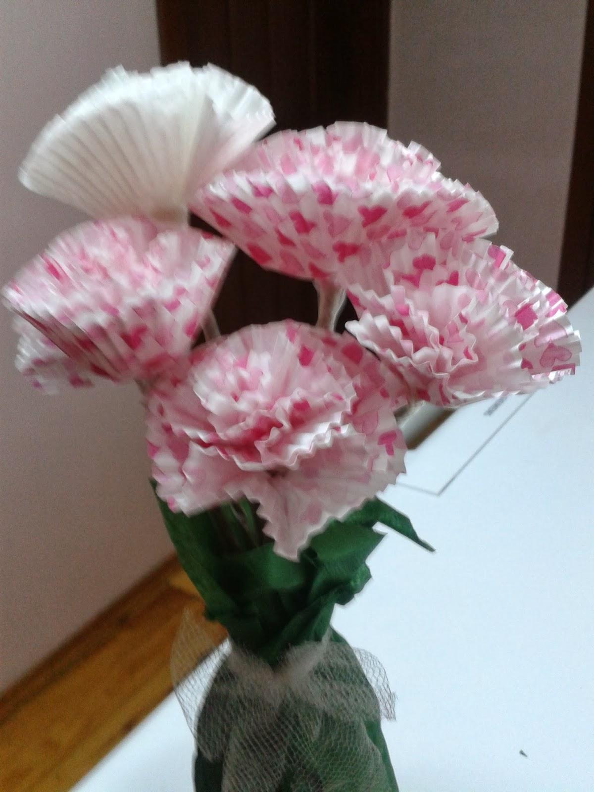 Krapon Kağıdından Çiçek Yapımı