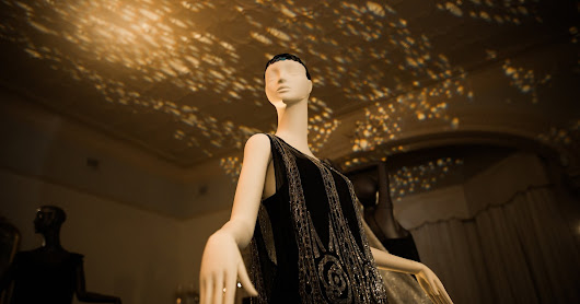 Night Life Exhibition showcasing 1920s and 30s fashion at Rippon Lea