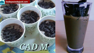 cad m/thick chocolate drink