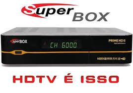 Atualizacao do receptor Superbox Prime HD II V