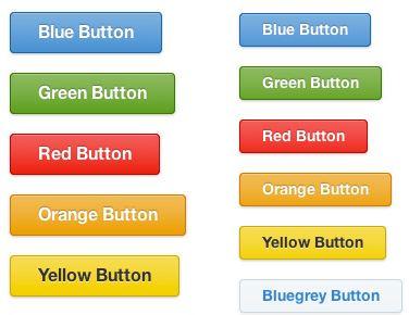 Botones CSS en distintos colores