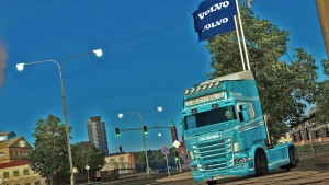 Light Blue and White paint for Scania RJL (EviL)