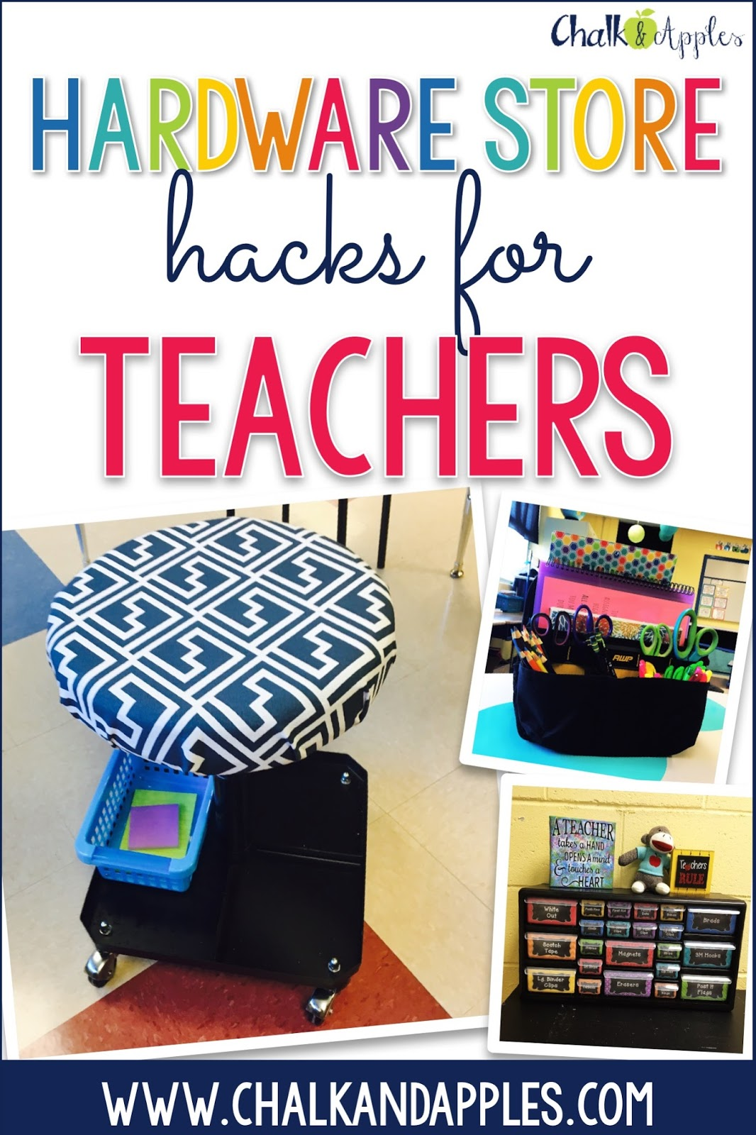 Quirky Classroom Ideas : Must try teacher hacks from home improvement stores
