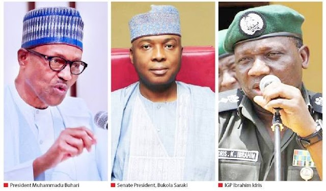 SARAKI VS POLICE IG: Read What President Buhari Told Senators