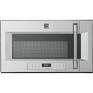 Kenmore PRO Microwave exterior