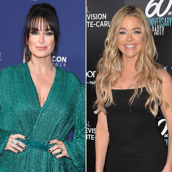 "Kyle Richards Says She's In A ""Good Place"" With Denise Richards Following RHOBH Reunion Drama And Explains Why Season 10 Was One Of Her ""Least Favorite Seasons"""