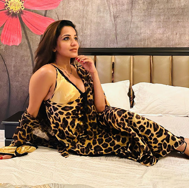 Bhojpuri sizzler Monalisa's sensational picture will blow your mind