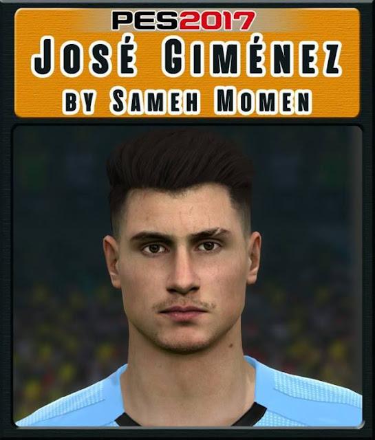 Jose Gimenez Face PES 2017