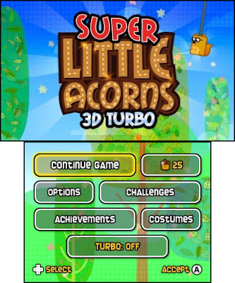 Playthrough Super Little Acorns 3D Turbo ROM Download