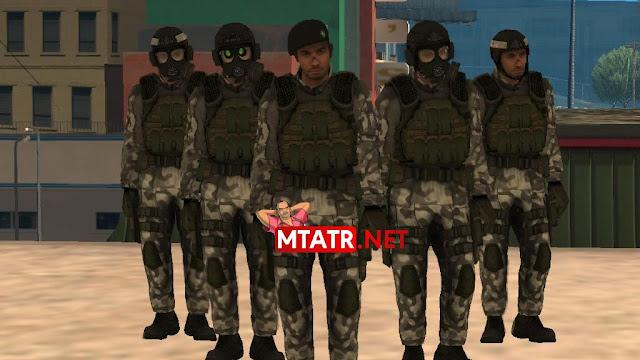 MTA SA HECU Marines Pack