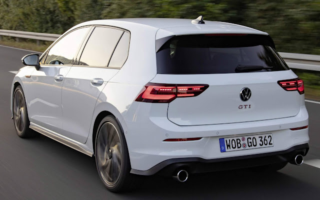 White VW Golf GTI Mk8