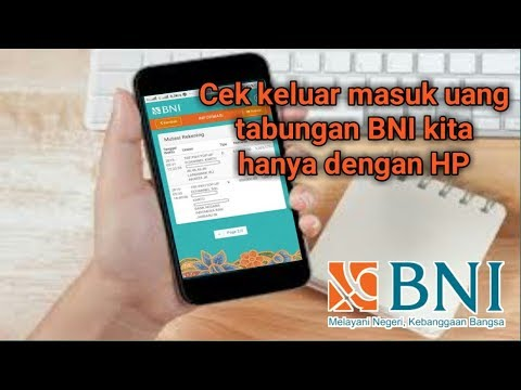 Cek Mutasi BNI Menggunakan Internet Banking