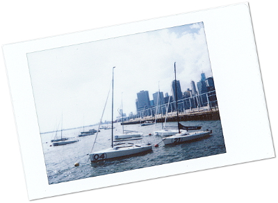 Blog Voyage New York City Polaroid de Brooklyn Heights - New York - Le Chameau Bleu