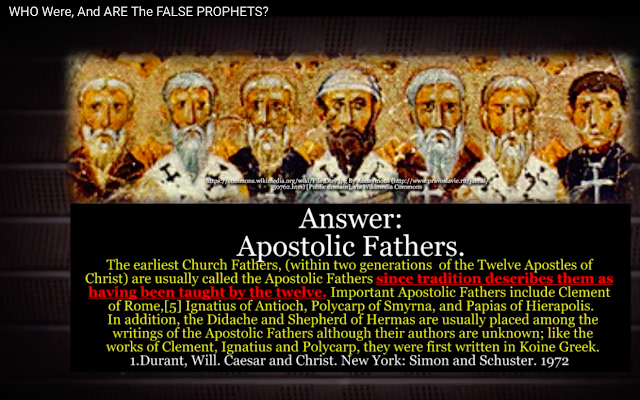 The first church Fathers believed and taught Jesus is GOD.