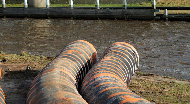 Limpieza de aguas residuales en Madrid