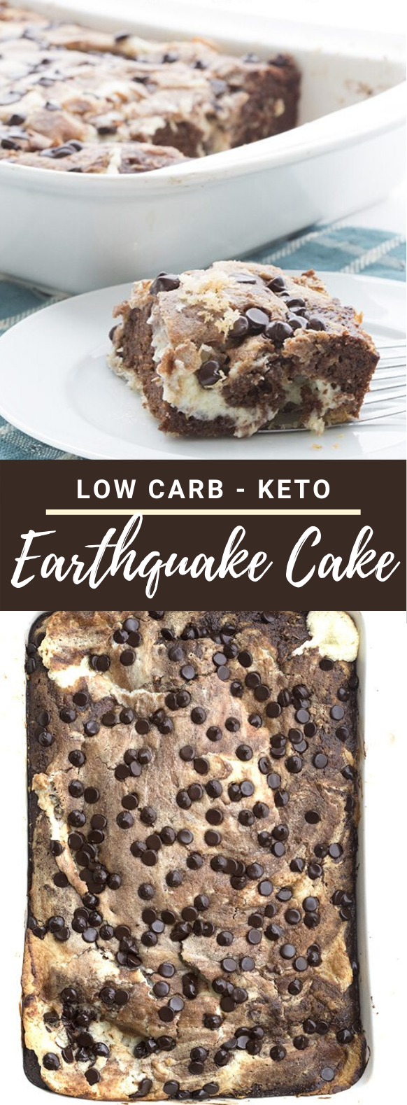 LOW CARB EARTHQUAKE CAKE #healthy #diet