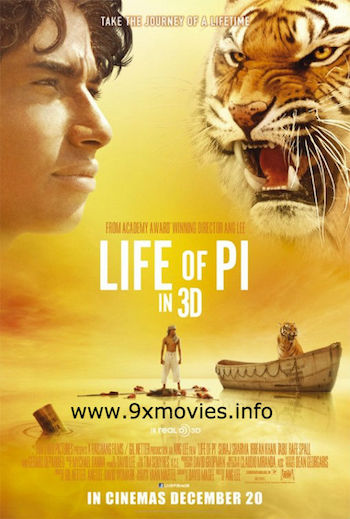 Life of Pi 2012 Dual Audio ORG Hindi 300mb Bluray Download