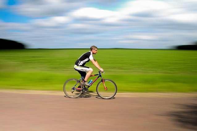 هل الدراجة الهوائية تزيل الكرش؟