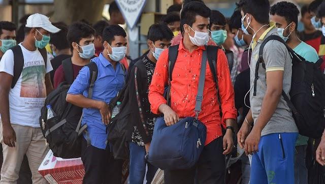 भारत कोविड -19 संख्याओं की व्याख्या : भारत में 15  से 20  लाख कोरोना का मामला सिर्फ 7 दिनों में