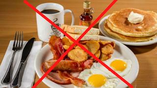 Do not skip breakfast