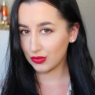 Fiery Summer Red Retro Inspired Makeup Tutorial