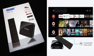 MECOOL ATV KM3 Certifié Google 4K TV Box Dual Wifi  Android 10