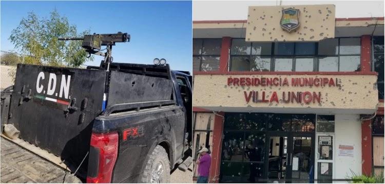 Derechos Humanos condena enfrentamiento entre Policías y el Cartel del Noreste en Villa Unión, Coahuila
