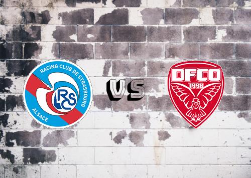 Strasbourg vs Dijon FCO  Resumen
