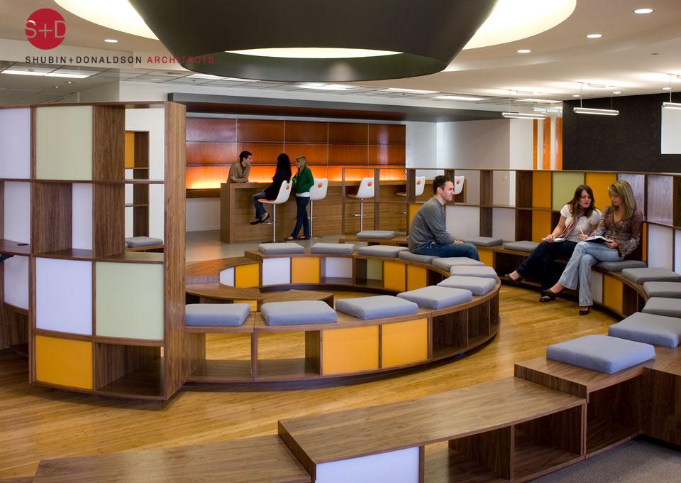 Imagine these office interior design saatchi saatchi - Interior design los angeles ...