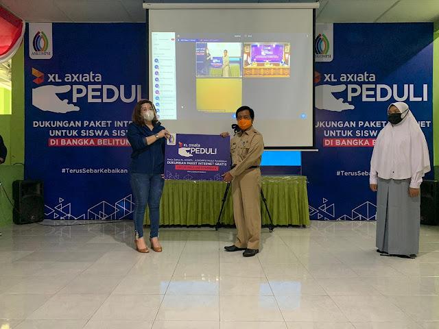 XL AXIATA- ASKOMPSI Dukung Pemerintah, Pelajar Berikan Kouta Internet Gratis