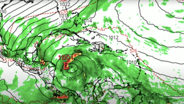 este disturbio penetraría en las costas de Costa Rica, avanza a Nicaragua y Honduras